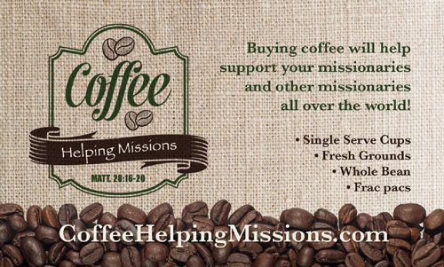 All profits support evangelical missions