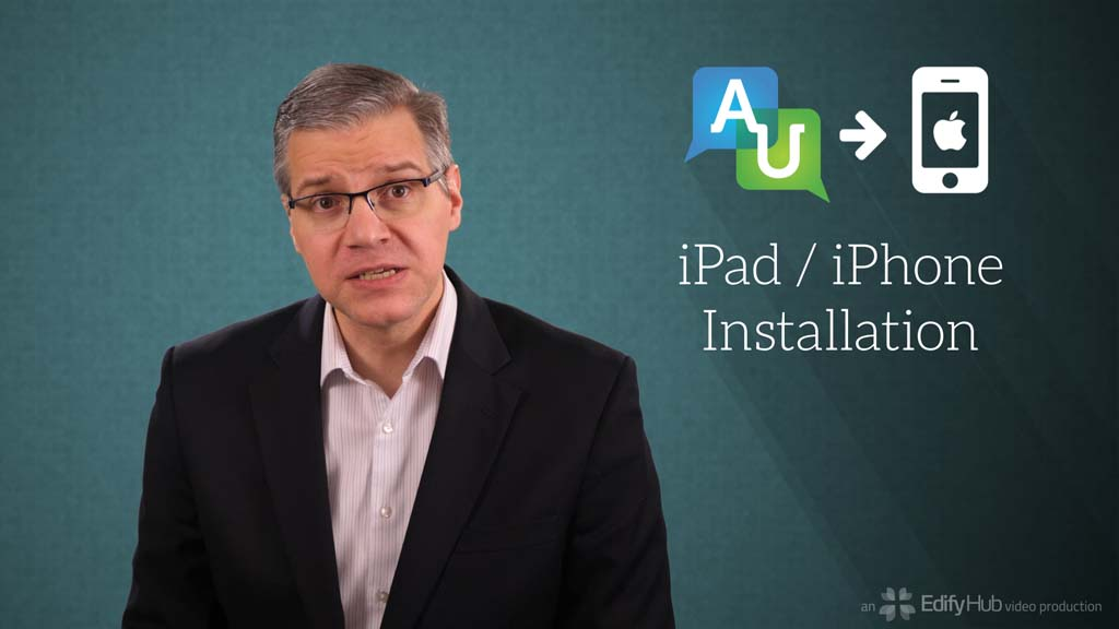 Accountable2You iPad/iPhone Installation